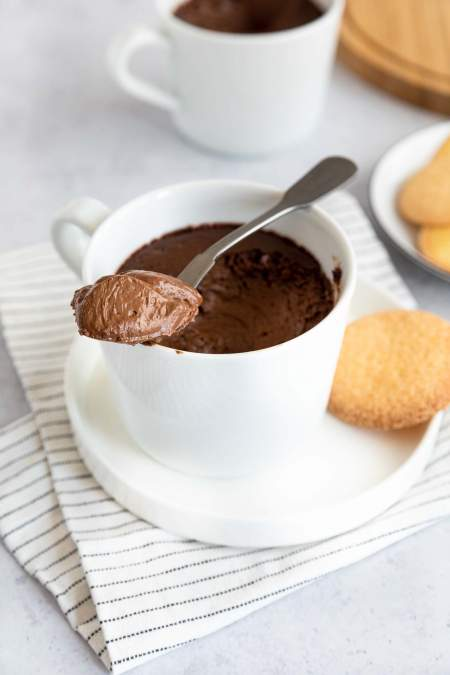 Chocolate Pots de Creme with Espresso