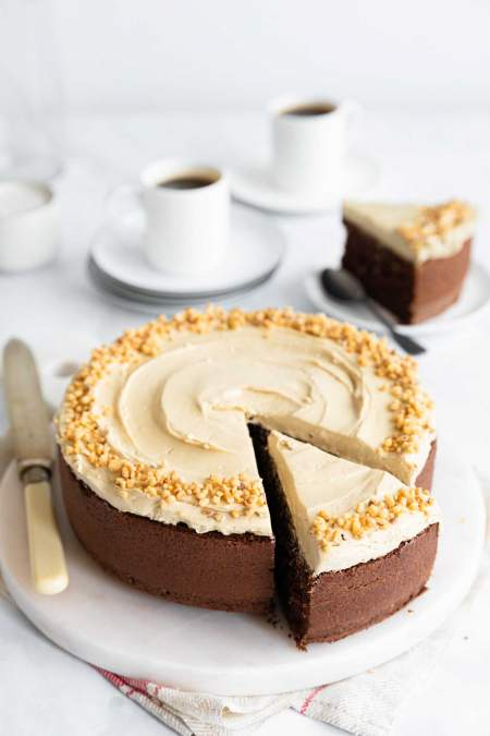 Simple Espresso Cake