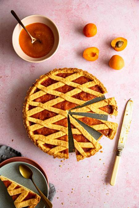 Najboljša marelična pita (Crostata)