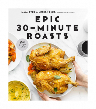 epic 30-minute roasts cookbook cover