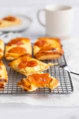 Apricot Cream Cheese Danish Pastries