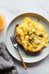 Umešana jajca s sirom