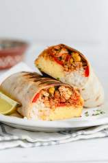 Piščančji burrito z zelenjavo