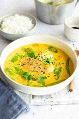 Coconut Fish Curry with Vegetables