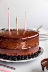 Nutellina torta z robidami