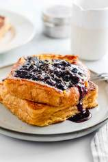 Quick Blueberry French Toast
