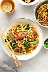 Beef Stir Fry Noodles
