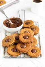 Whole Wheat Cookies with Nutella
