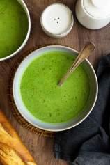 Wild Garlic Soup (Ramson)