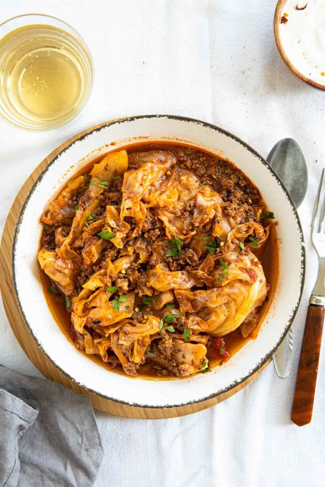 Ground Beef Cabbage Stew
