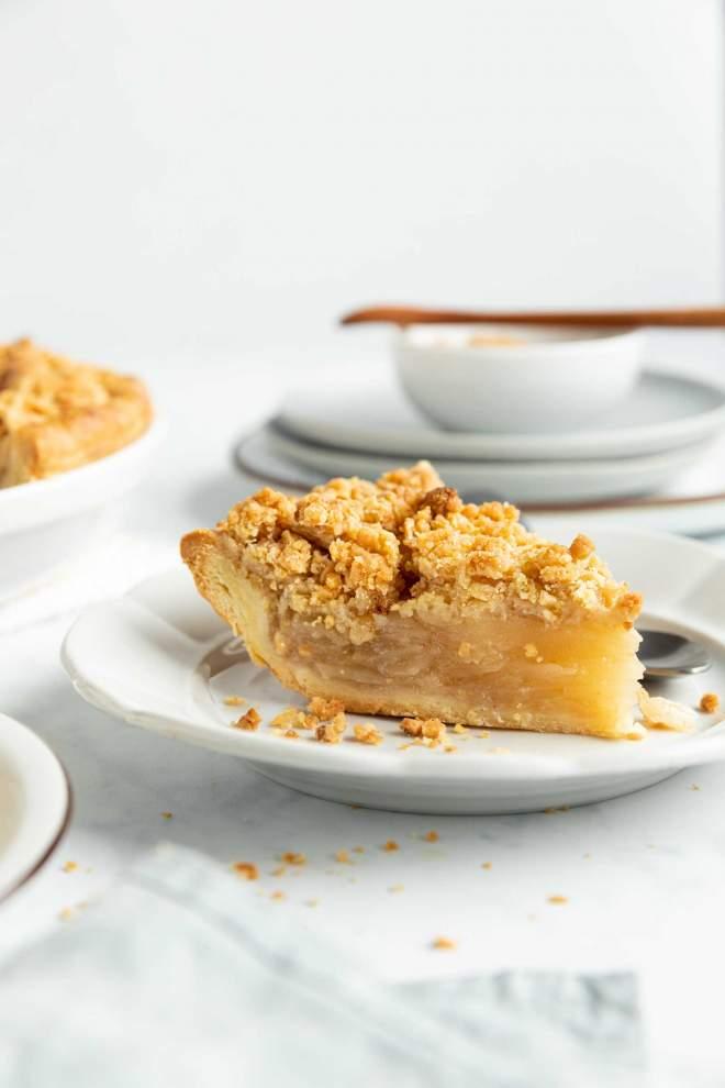 Jabolčna pita z drobljencem