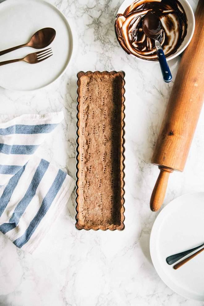 Gluten Free Buckwheat Tart Crust