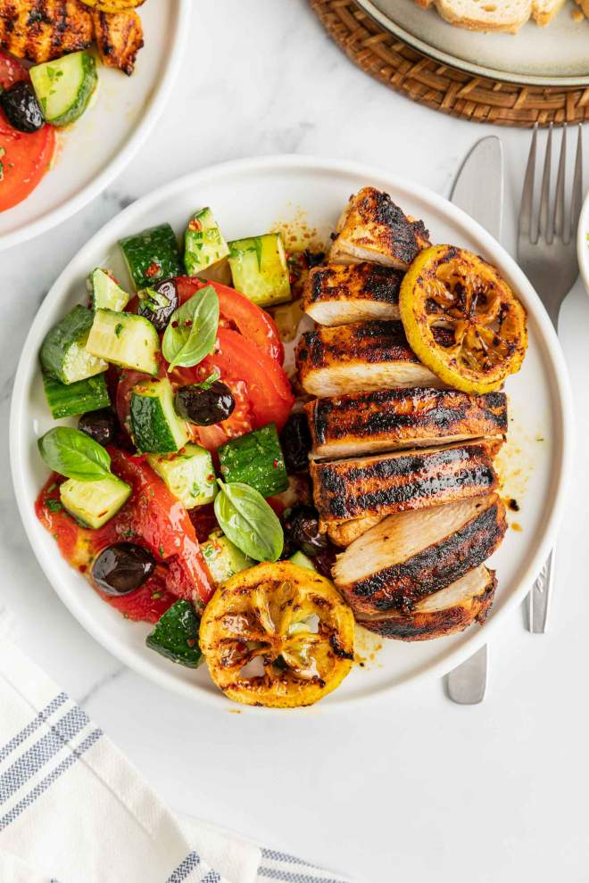 Grilled Lemon Chicken Breast