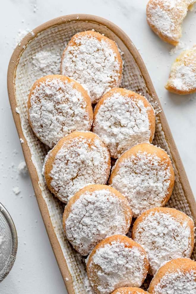 Mandljevi piškoti z limono (Ricciarelli)