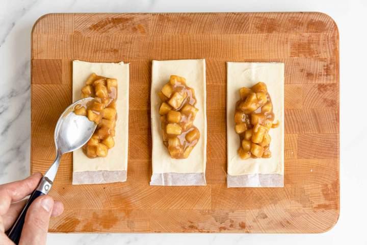 Najboljša ocvrta jabolčna pita - priprava nadeva in testa