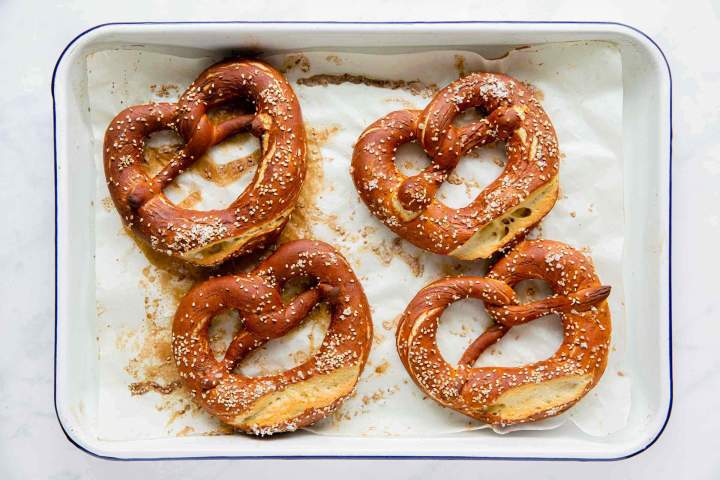 Homemeade Bavarian Bretzels, soft and delicious