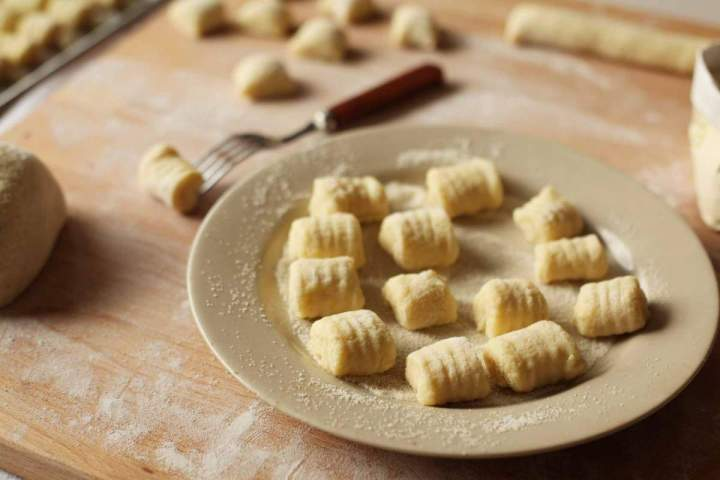 Making Simple Potato Gnocchi at home