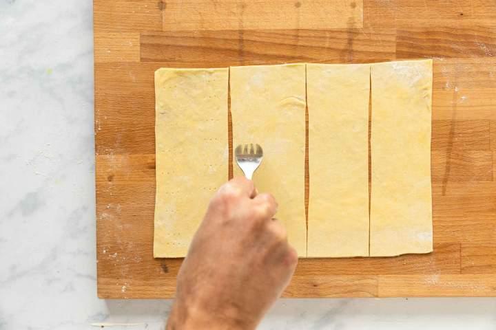 Mlinci or Baked Noodles dough
