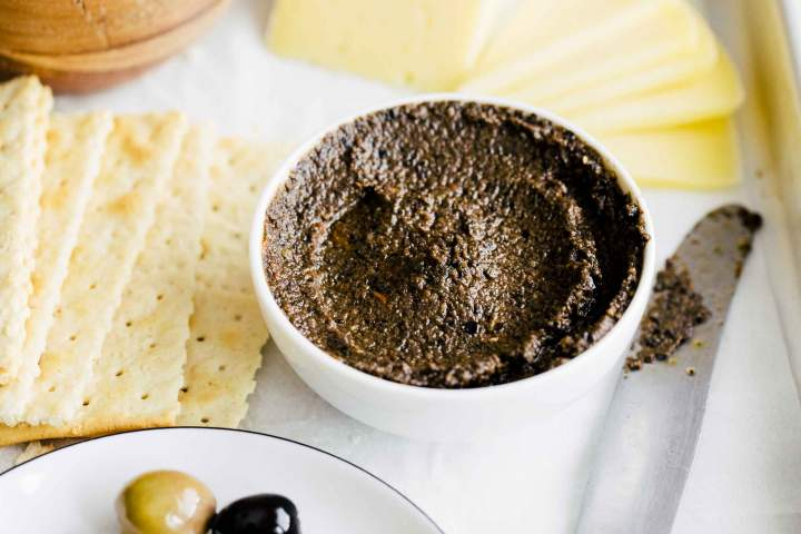 Namaz iz oliv - Tapenada