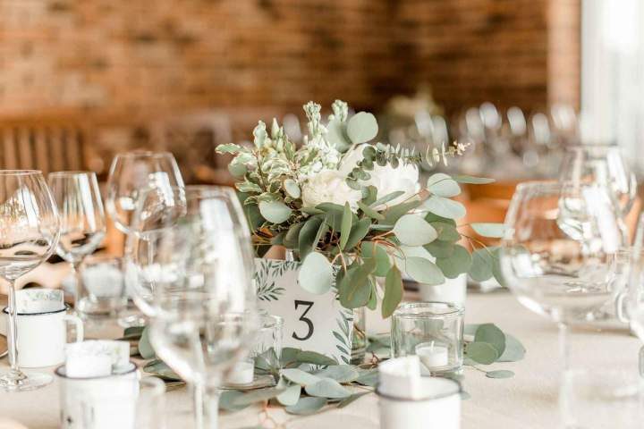 Our intimate spring wedding reception by jernejkitchen.com