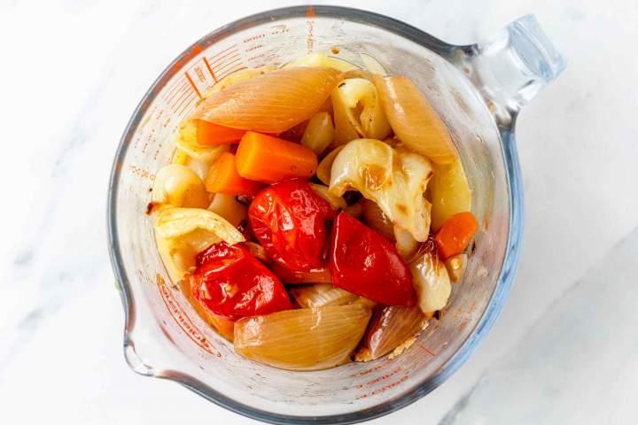 Pepper Tomato Sauce before blending