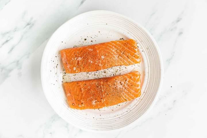 Priprava lososa