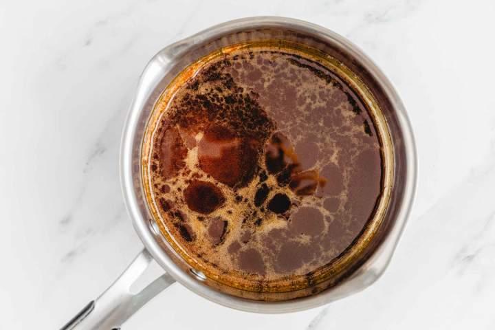Dark caramel for The best Salted Caramel