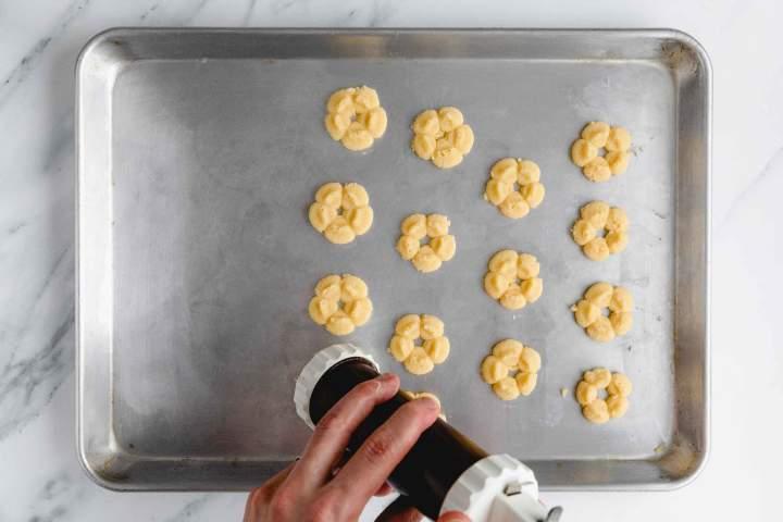 Shaping Best Spritz Cookies