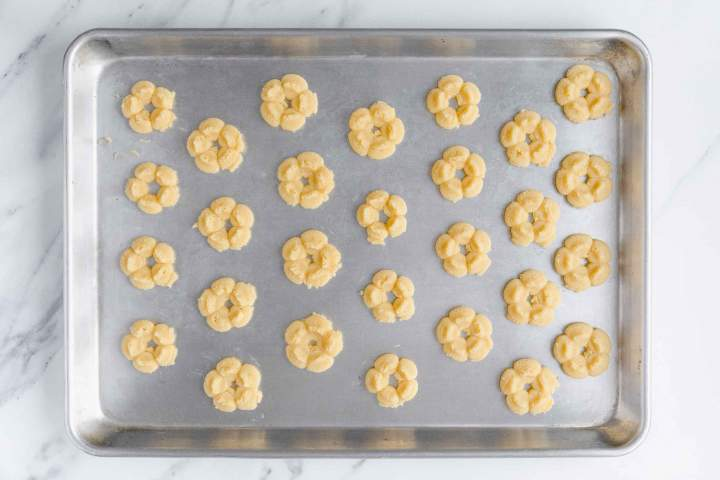 Best Spritz Cookies before baking