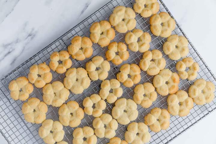 Baked Best Spritz Cookies