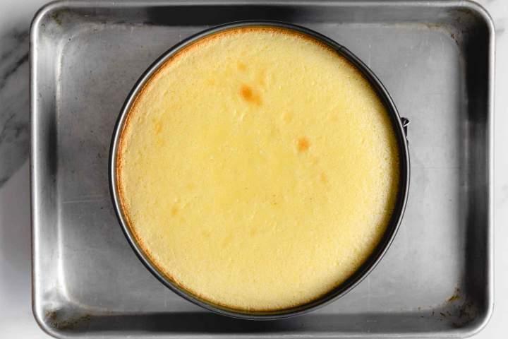 Pečen cheesecake