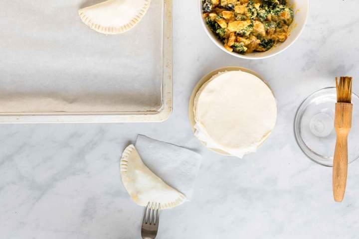 Vegetarian Empanadas (with Puff Pastry)