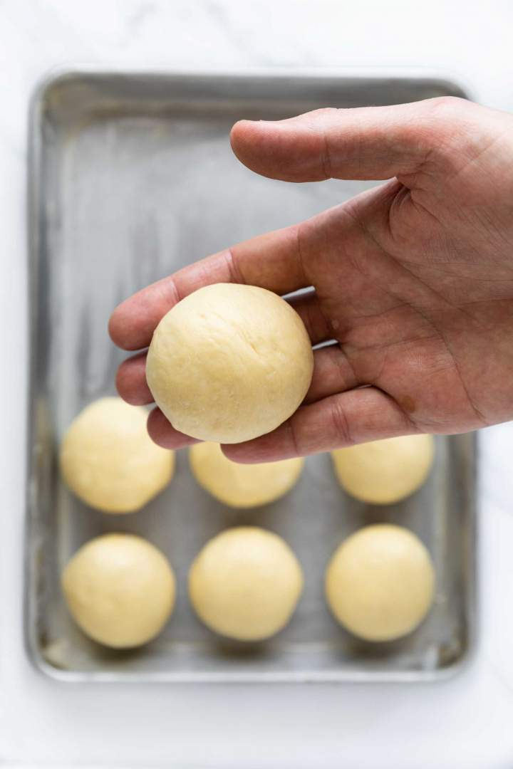 Soft Dinner Rolls shaping