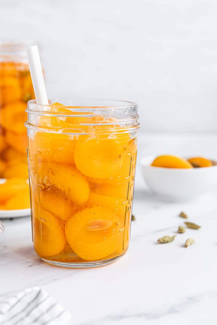 Preserved Apricot Compote