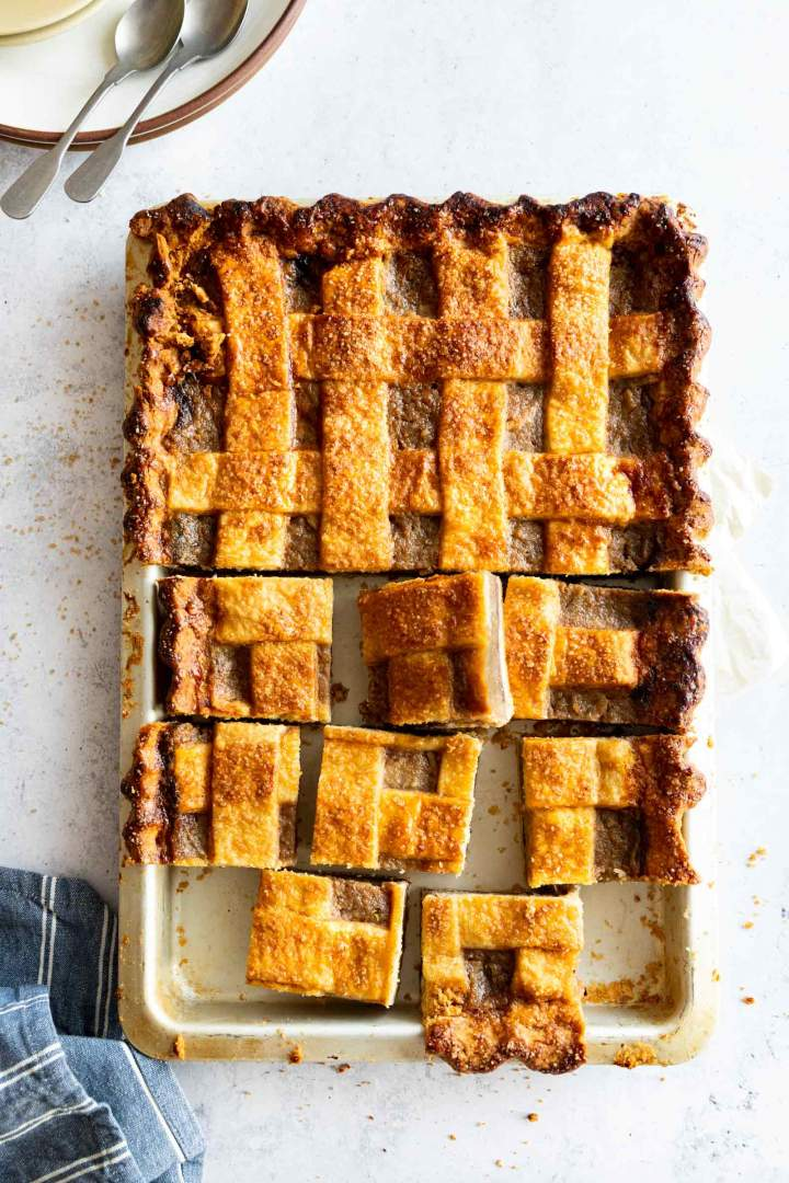 Blueberry Pear Slab Pie Recipe