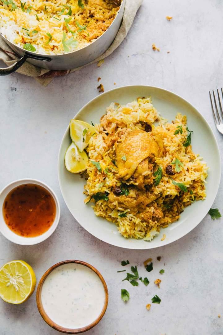 Piščančji curry z rižem