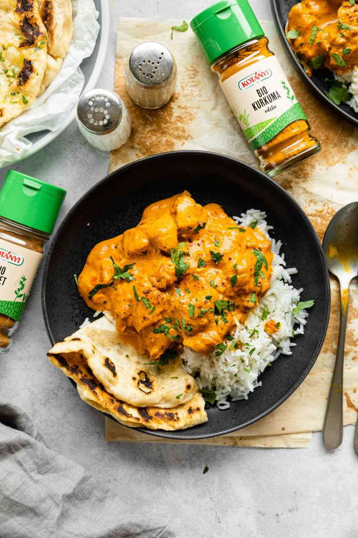 Chicken Tikka Masala made with Kotanyi spices