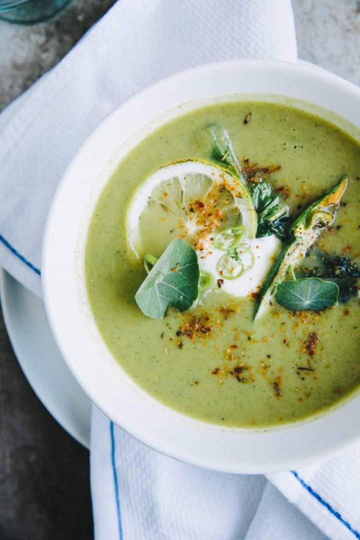 Bučkina kremna juha z limono