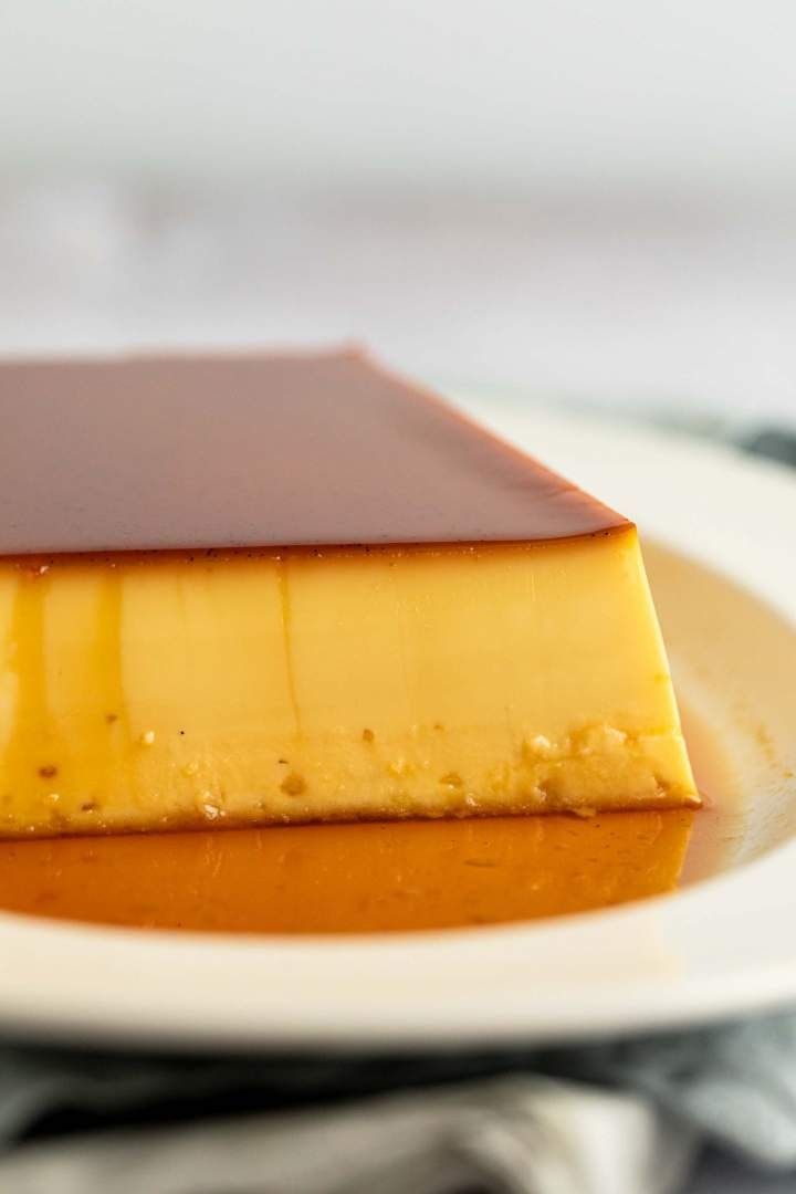 how to make caramel custard at home