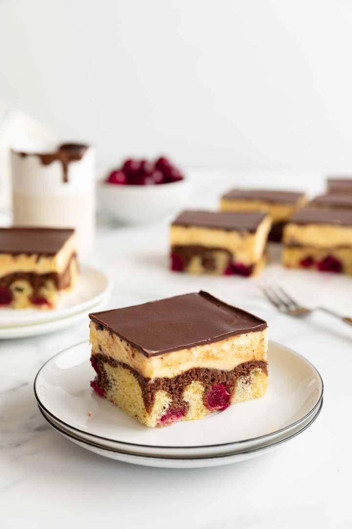 Danube Cake slice
