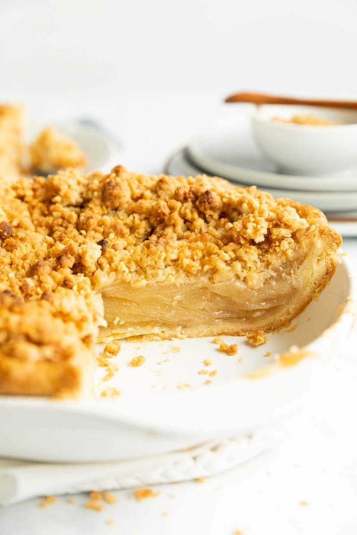 Crumble Apple Pie recipe