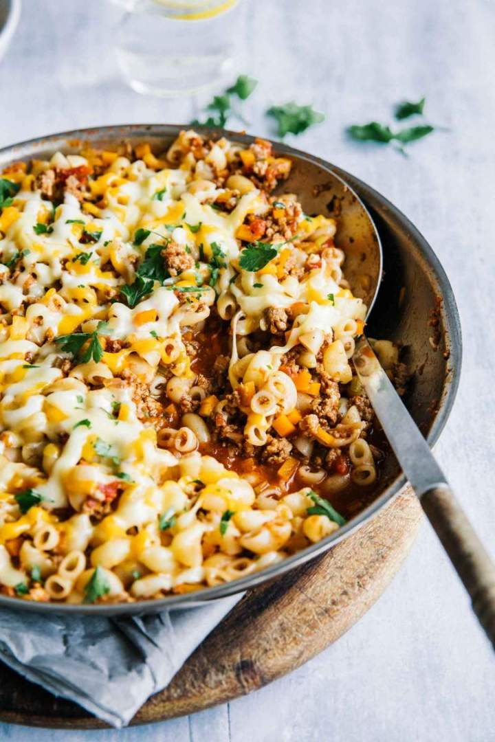 Easy Macaroni with Ground Beef