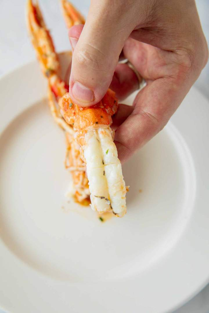 How to peel shrimp scampi