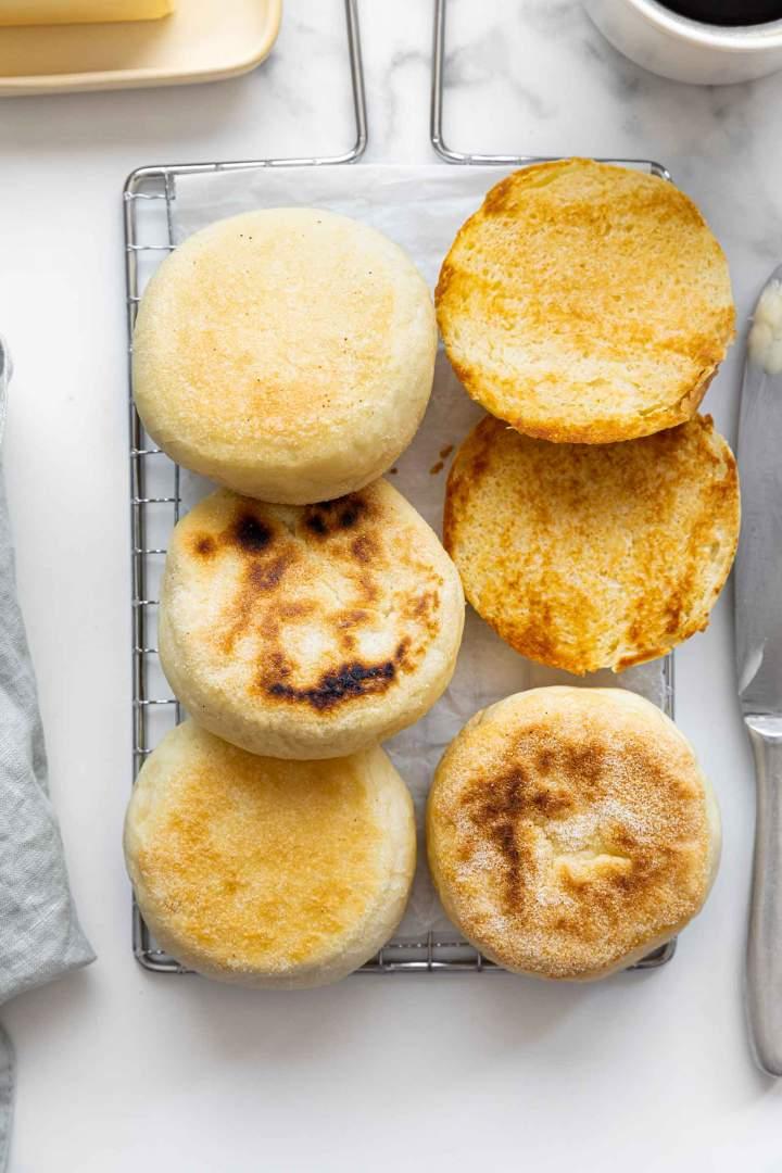 Easy Homemade English Muffins recipe
