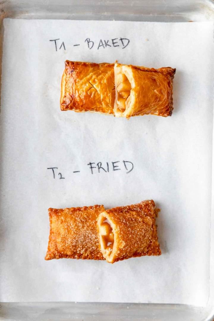 best fried apple pies baked vs fried