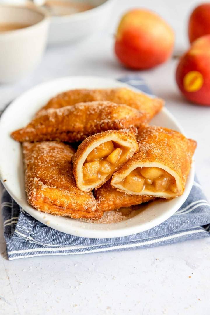 Najboljša ocvrta jabolčna pita
