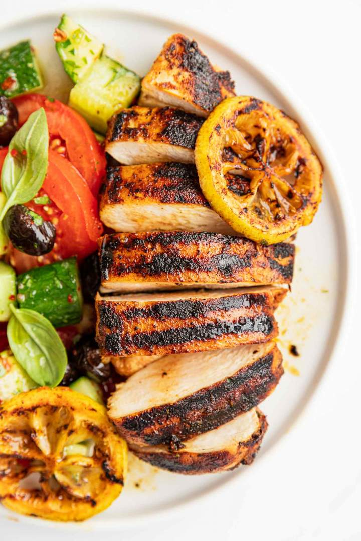 Juicy and tender Grilled Lemon Chicken Breast
