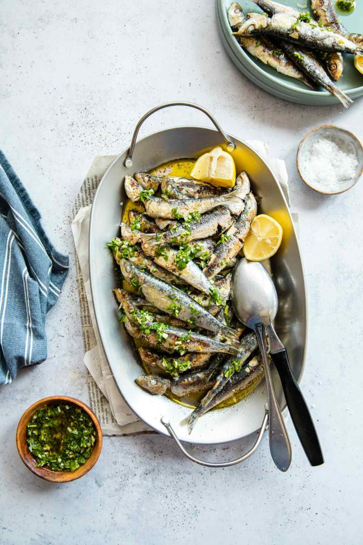 Easy Grilled Sardines Recipe