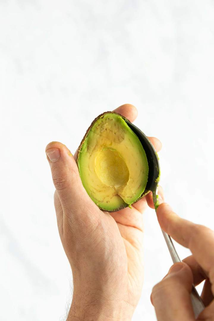 Ripe avocado for Guacamole