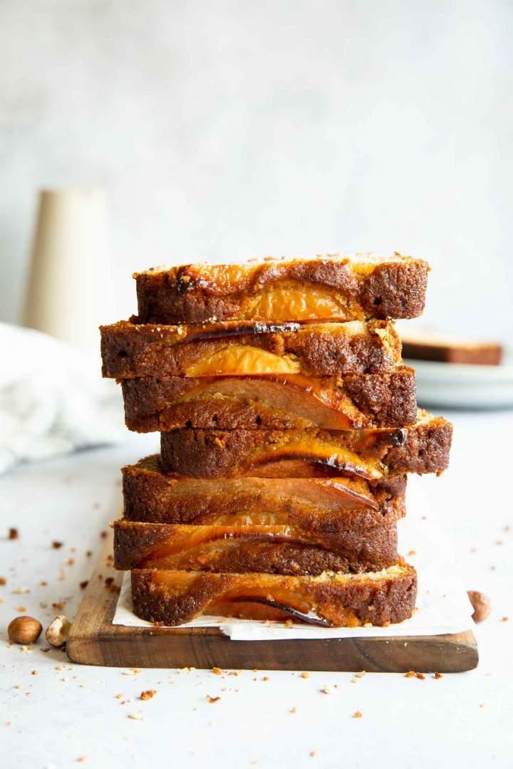 Honey Hazelnut Quince Cake - the perfect fall dessert